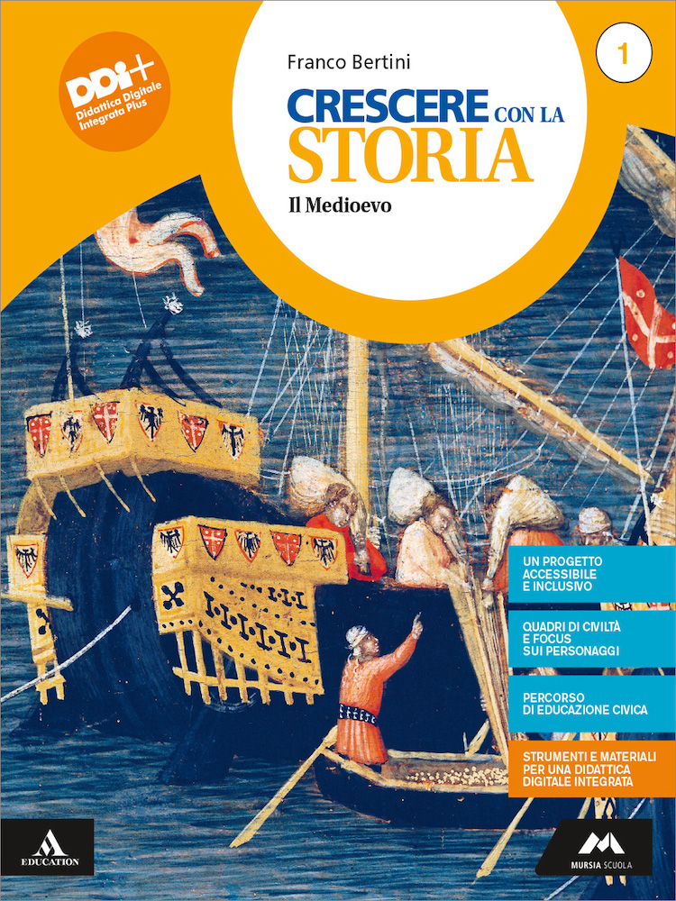 Cover Crescere con la storia